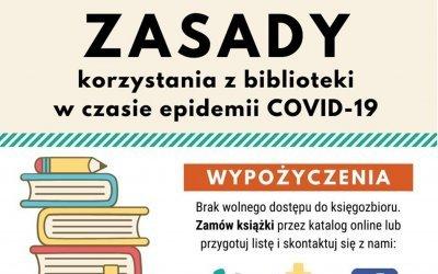 Biblioteka w Godowie wznawia obsługę czytelników